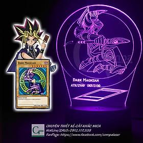 Đèn Ngủ Yugi-Oh Dark Magician Type 01