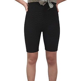Breathable Tight Yoga Sport Hips High Waist Thread Short Women Pants-0