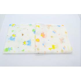 Khăn gạc em bé gói 10 cái ( khăn xô) có hình.