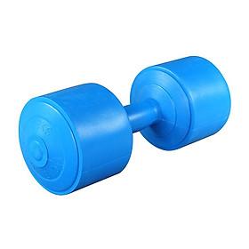 Tạ tay nhựa 3kg, hàng Việt Nam, đúc liền khối, chất liệu nhựa cao cấp, chống chai tay an toàn tuyệt đối giúp tăng cơ bắp hiệu quả