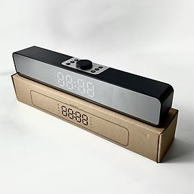 Loa bluetooth kiêm đồng hồ báo thức GUTEK G12 màn hình led, loa nghe nhạc không dây âm thanh chân thực, sắc nét, âm bass trầm ấm sống động, hỗ trợ đàm thoại và nghe nhạc usb, thẻ nhớ, nhiều màu sắc - Hàng chính hãng