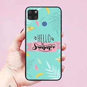 Ốp lưng điện thoại dành cho Realme C12 Hình Hello Summer