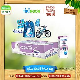 [Chỉ giao HN] [100% TRÚNG THƯỞNG | THẺ CÀO MỖI LỐC] Thùng 48 hộp sữa Nestlé Gấu hương việt quất (48x180ml)