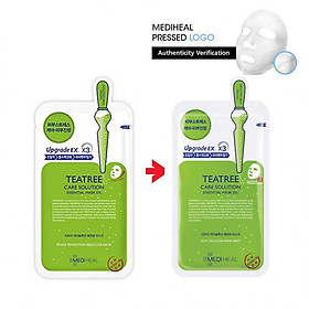 Combo 5 Mặt nạ dưỡng da chiết xuất tràm trà Mediheal Teatree Solution Essential Mask Ex