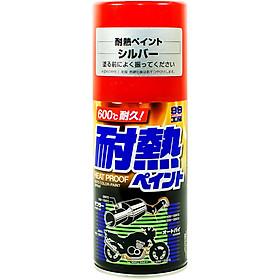 Sơn Silicone Chịu Nhiệt Cho Bộ Giảm Thanh, Động Cơ Ô Tô Heatproof Paint BP-2 Soft99 (300ml)