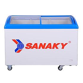 TỦ ĐÔNG TRƯNG BÀY KEM SANAKY 324 LÍT VH-482K NHÔM (R134A) - hàng chính hãng - chỉ giao HCM