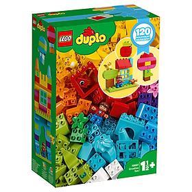 Bộ đồ chơi lắp ráp LEGO DUPLO - Hộp vui chơi sáng tạo của tôi 10887 - My Free Creative Fun Box (120 chi tiết)