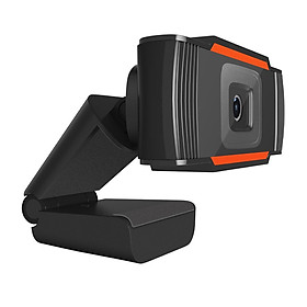 Webcam Siêu Nét 1080P HD Streaming Camera for Gaming Meetings Portable Desktop Webcam USB Computer Camera Free Drive Installation