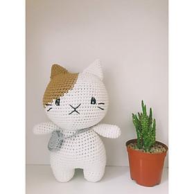 Mèo túi tròn xám HC - Thú bông cho bé - Quà tặng sinh nhật