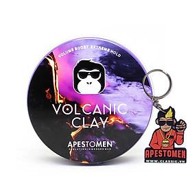 Sáp vuốt tóc Volcanic Clay Version 4 - Tặng kèm móc khoá chính hãng