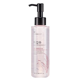 Dầu Tẩy Trang The Face Shop Rice Water Bright Rich Cleansing Oil 30400511 (150ml)