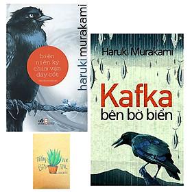 Combo Kafka Bên Bờ Biển và Biên Niên Ký Chim Vặn Dây Cót ( Tặng Kèm Sổ Tay Xương Rồng)