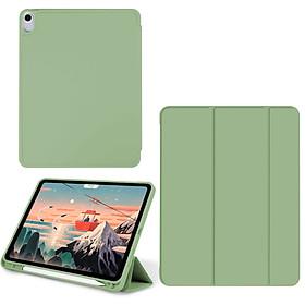 Bao Da Case Cover Dành Cho iPad Mini 5/ iPad Pro 11 inch/ iPad Air 3 / iPad Pro 3/ iPad Air 4 / iPad 7/8 / iPad Pro 12.9 inch - Hàng Chính Hãng Có Khe Cắm Apple Pencil