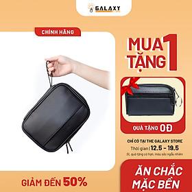 Ví Clutch Nam Nữ Cầm Tay Cao Cấp Tiện Lợi Chứa Vừa iPad Phong Cách Doanh Nhân Galaxy Store GCL01 - Hàng Chính Hãng