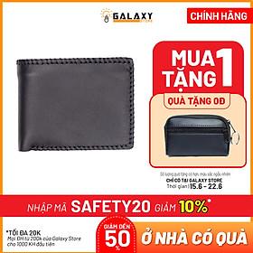 Ví Nam Thời Trang Cao Cấp Da Bò Thật Galaxy Store GVN11 (12.5 x 9.5 cm)