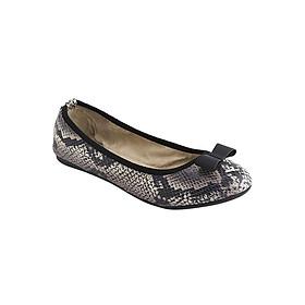 Giày Búp Bê Đế Bệt CHLOE STONE SNAKE Butterfly Twists BT21-010-205 - Xám