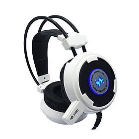 Tai nghe gaming WangMing Computer Headset WM8900L (trắng) - Hàng Nhập Khẩu
