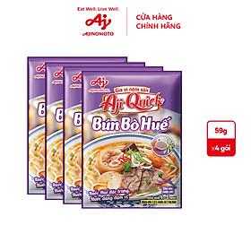 [COMBO 24] Lốc 4 Bún Bò Huế Aji-Quick 59g