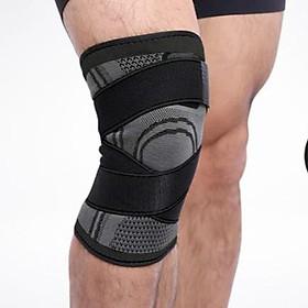 Băng đai bảo vệ đầu gối tập gym dạng ống thoát mồ hôi AK.24-8