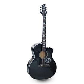 Đàn Guitar Acoustic NG N1BK-EQ ( Tích Hợp Sẵn EQ Biểu Diễn, Thu Âm)