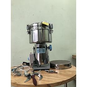 Máy xay bột nghệ, bột sắn, bột thuốc các loại công suất lớn 2500g/lần xay
