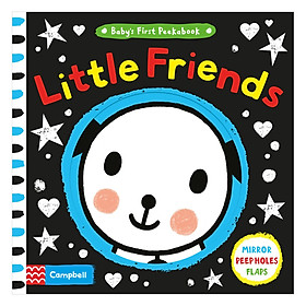 Cambell Mirror Peep Holes Flaps: Baby's First Peekabook: Little Friends