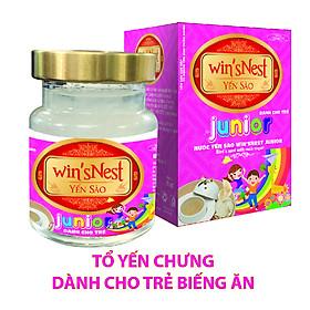 Nước yến sào win'sNest Junior 12% ( 70ml ) thích hợp cho mọi đối tượng, đặc biệt trẻ em biếng ăn
