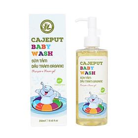 Sữa Tắm Gội Dầu Tràm toàn thân cho BÉ hữu cơ Cajeput Baby Wash (250ml) | Phù hợp cho tất cả loại da | 100% Organic