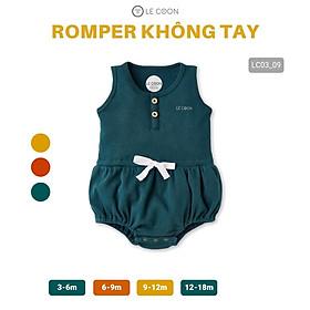 LE COON | Bộ Romper Không Tay | COMFY