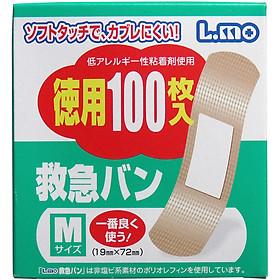 Bộ 3 hộp băng keo cá nhân tiện lợi chống nhiễm trùng ( 100 miếng ) - Hàng nội địa Nhật