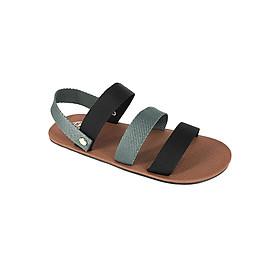 Giày Sandal 3 Quai Ngang Nam Everest K-A260 (Đen Xám)
