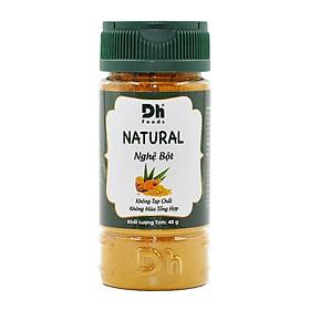 Natural Nghệ bột 40gr Dh Foods - Bột nghệ nguyên chất 100%