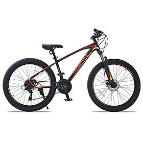 Xe đạp địa hình hiệu FORNIX Climber, vòng bánh 26', màu Đen Đỏ