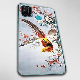Ốp lưng dành cho Vsmart Joy 4 mẫu Chim trĩ