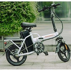 Xe điện thông minh thể thao siêu gấp gọn homesheel FTN T5s phiên bản 15 AH-hàng chính hãng-màu trắng