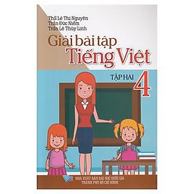 Giải Bài Tập Tiếng Việt Lớp 4 Tập 2