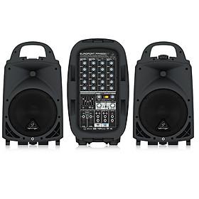 BEHRINGER PPA500BT 500-Watt 6-Channel Portable PA System with Bluetooth-Hàng Chính Hãng