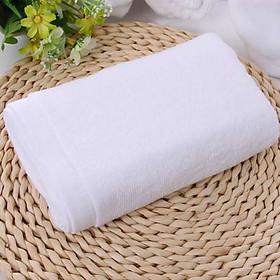 Khăn tắm khách sạn cao cấp KT 70 x 140cm, nặng 450g, 100% cotton màu trắng
