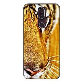 Ốp lưng dành cho điện thoại Nokia 8.1 Mắt Hổ