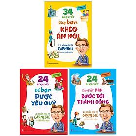 Bộ Sách 34 Bí Quyết Giúp Bạn Khéo Ăn Nói + 24 Bí Quyết Giúp Bạn Bước Tới Thành Công + 24 Bí Quyết Để Bạn Được Yêu Thích (Bộ 3 Cuốn)