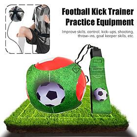 1.8m Football Kick Trainer Elasticity Soccer Control Skill Practice Equipmet Football Kick Trainer Set