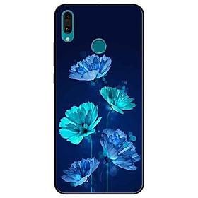 Ốp lưng in cho Huawei Y9 2019 Mẫu Hoa Đêm
