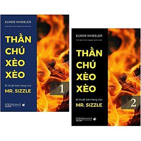 Combo 2 Cuốn: Thần Chú Xèo Xèo - Bí Thuật Bán Hàng Của Mr. Sizzle - Tập 1 + 2