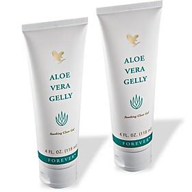 Combo 2 tuýp gel dưỡng da Forever Aloe Vera Gelly (#061) (118ml/tuýp)