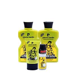 Combo 4 mỹ phẩm Pierre Cardin gồm dầu gội 180g + sữa tắm Playboy 180g + Lăn khử mùi Playboy + Sữa rữa mặt Playboy 50ml