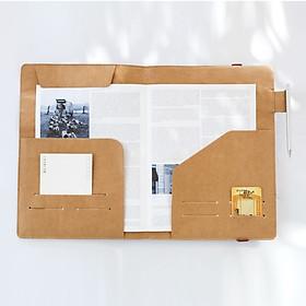 Hình đại diện sản phẩm Bìa Đựng Tài Liệu A4 Shude D4792