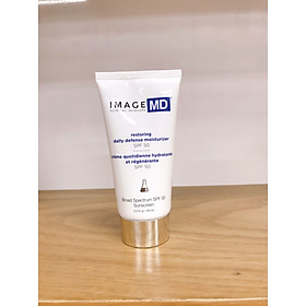 Kem chống nắng ngăn ngừa lão hóa Image Skincare Restoring Daily Defense Moisturizer 50