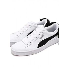 Giày thể thao nữ Puma Basket Bow Sb Wn S màu trắng đen