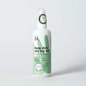 Dung dịch rửa tay khô từ tinh dầu thiên nhiên và nano bạc 14s