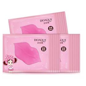 Mặt nạ dưỡng môi, giảm thâm và giúp căng mọng môi BIOAQUA (10 miếng)